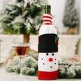 NHHB1146503-Knitted-flannel-cartoon-wine-bottle-set-snowman