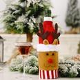 NHHB1146504-Knitted-flannel-cartoon-wine-bottle-set-elk