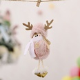 NHHB1146515-Plush-antlers-girl-pendant-pink-snowflake