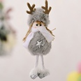 NHHB1146516-Plush-antlers-girl-pendant-gray-five-pointed-sta