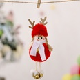 NHHB1146517-Plush-antlers-girl-pendant-red-five-pointed-star