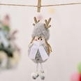NHHB1146519-Plush-antlers-girl-pendant-gray-snowflakes