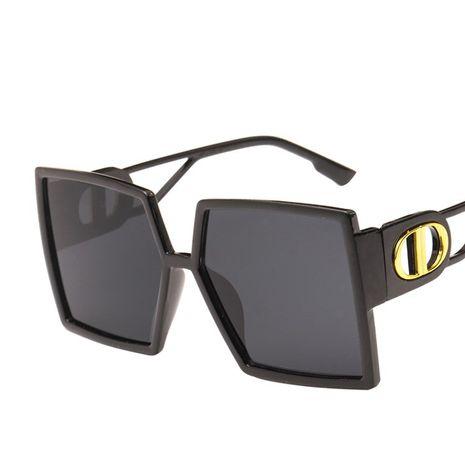 templo hueco cuadrado retro gafas de sol señoras NHKD262134's discount tags