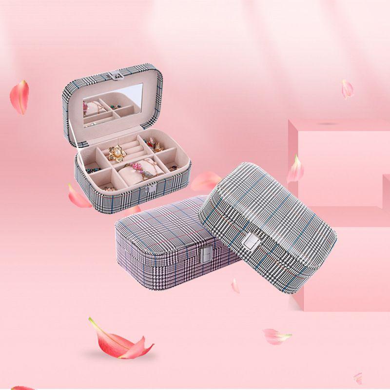 hand jewelry box wholesale jewelry box flannel jewelry storage box  NHHO262145