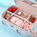 hand jewelry storage box Korea retro necklace earrings ring box  NHHO262150