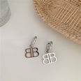 NHYQ1147537-Double-B-earrings-silver