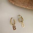 NHYQ1147538-Single-B-earrings-gold