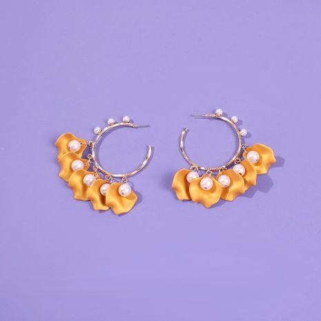 Al por mayor pendientes de perlas dulces de aleación para mujer NHMD262942's discount tags