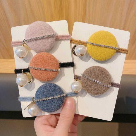 Korea new  round buckle  high elastic head rope NHCQ262636's discount tags