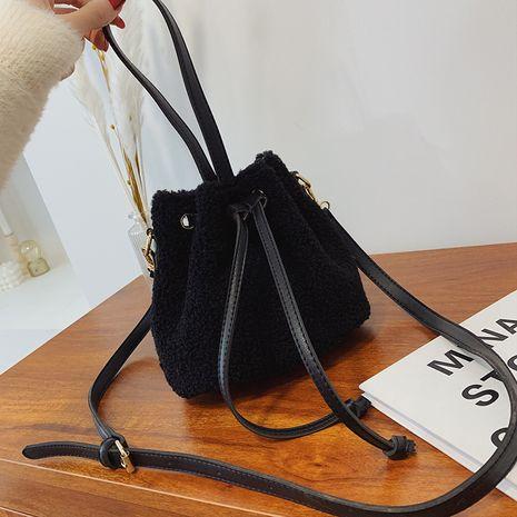 nuevo bolso de cubo portátil de cordero de moda NHJZ262670's discount tags