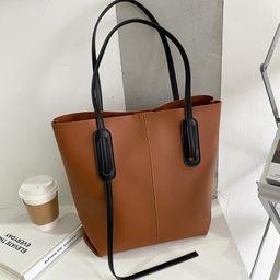 new fashion large capacity shoulder bag  NHJZ262682