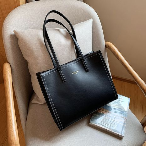 new trendy fashion simple  large capacity  popular all-match tote bag  NHJZ262694's discount tags