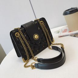 new fashion  popular messenger bag chic one-shoulder diamond chain bag NHJZ262696