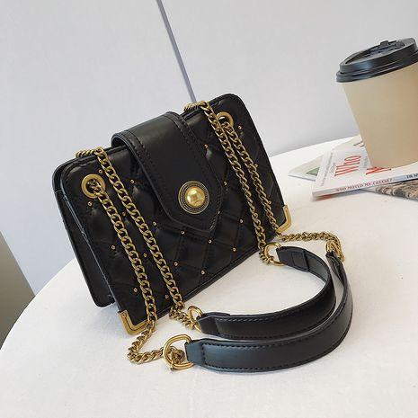 new fashion  popular messenger bag chic one-shoulder diamond chain bag NHJZ262696's discount tags