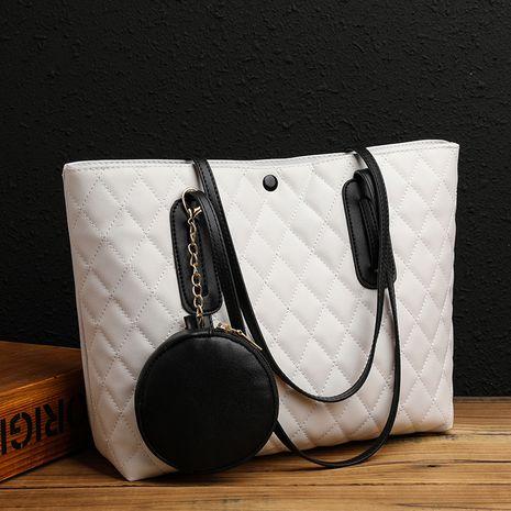 Neue trendige Ein-Schulter-Unterarmtasche mit großer Kapazität NHJZ262699's discount tags