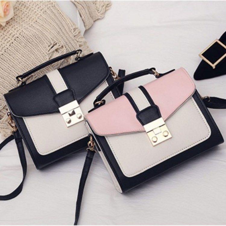 new Korean fashion casual messenger  wild hit color single shoulder bag NHRU262711