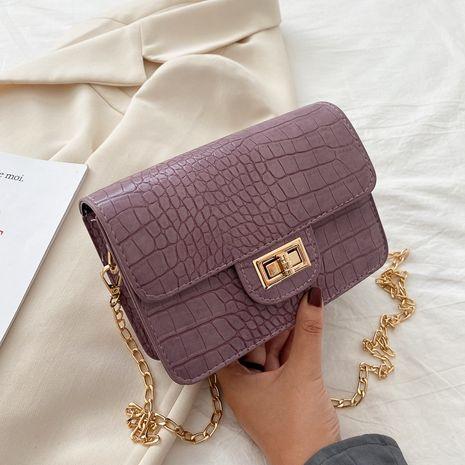 new fashion shoulder bag wild crocodile pattern retro messenger bag NHRU262712's discount tags