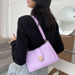 Fashion texture bag  new  crocodile pattern single shoulder handbag  NHRU262713