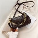 New  Korean retro crocodile pattern small bag portable chain bag  NHRU262714