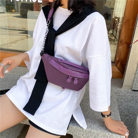 new   nylon fabric fashion Korean fashion shoulder bag NHRU262721's discount tags