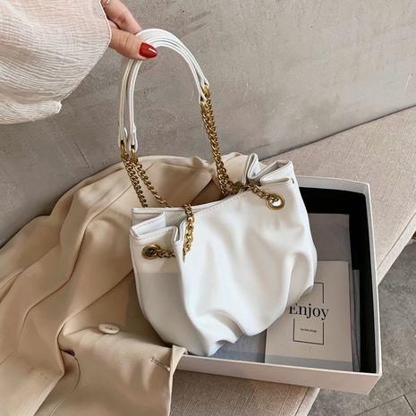 neue trendige Mode Umhängetasche wilde Single Shoulder Fold Bag NHLH262759's discount tags