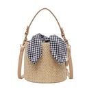 new  straw woven shoulder diagonal  straw woven bag NHLH262822