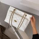 Largecapacity small fragrant rhombic large bag  new  Korean  shoulder chain portable messenger bag NHLH262847