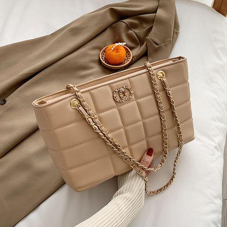 großzügige Diamant New Fashion große Kapazität One-Shoulder-Kette Einkaufstasche NHJZ262875's discount tags