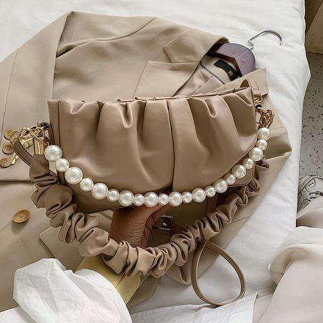 neue trendige Mode Perle Single Shoulder Handtasche NHJZ262881's discount tags