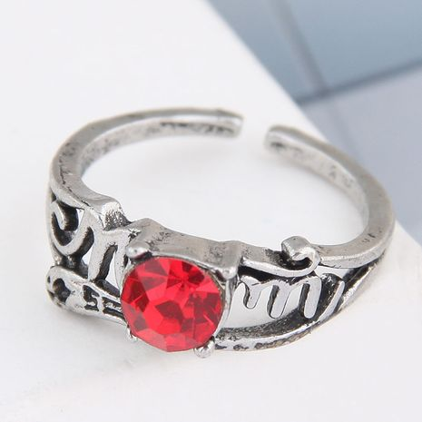 anillo de gema simple retro de moda NHSC262914's discount tags
