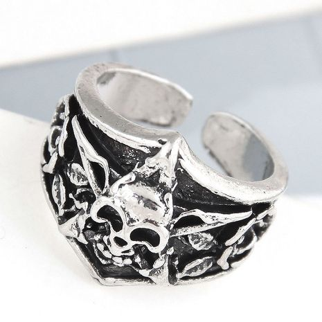 anillo de personalidad de calavera simple retro de moda NHSC262912's discount tags
