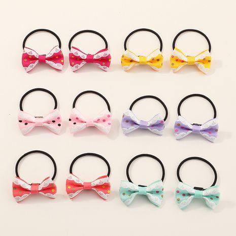 Niños coreanos venta caliente color simple nuevo dulce dibujos animados moda niñas accesorios para el cabello NHNU262986's discount tags