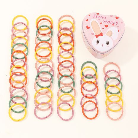Baby rubber band children's hair band high elasticity simple basic girl's hair scrunchies NHNU262993's discount tags