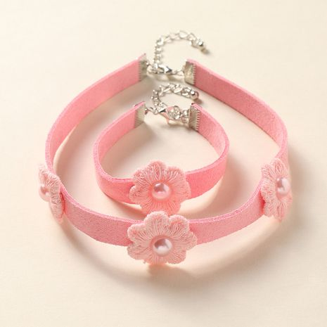 children's bracelet necklace jewelry girl princess cartoon bracelet necklace little girl baby cute jewelry NHNU262997's discount tags