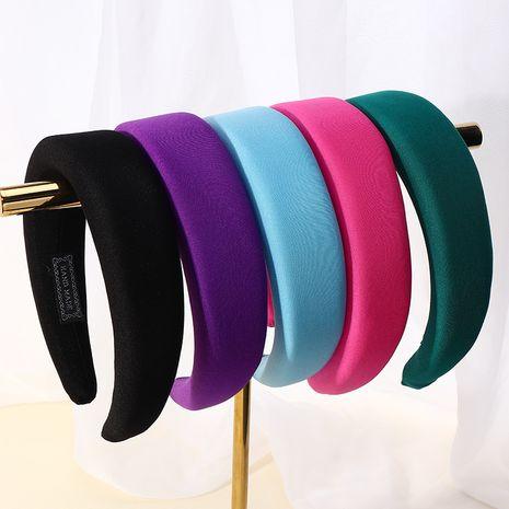 diadema de seda de leche de color caramelo color del arco iris diadema de textura cómoda estilo hyuna NHAU263018's discount tags