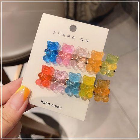 dessin animé doux et dur candy bangs accessoires pour cheveux joli clip côté bonbons gelée NHOF263093's discount tags