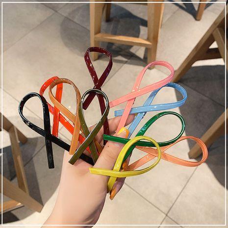 arc couleur bonbon coréen pince à ressort simple clip accessoires de cheveux épingle à cheveux pour les femmes NHOF263097's discount tags