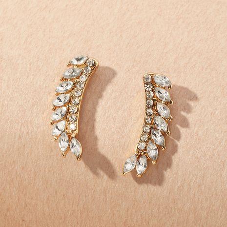 boucles d'oreilles fantaisie ornées de diamants pour femmes NHNZ263154's discount tags