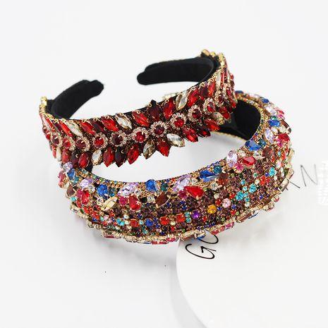 Nouveau bandeau de luxe géométrique goutte d'eau couleur baroque NHWJ263190's discount tags