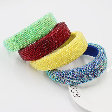 fashion baroque headband Korea full diamond sponge belt drill  rhinestone headband NHWJ263191's discount tags
