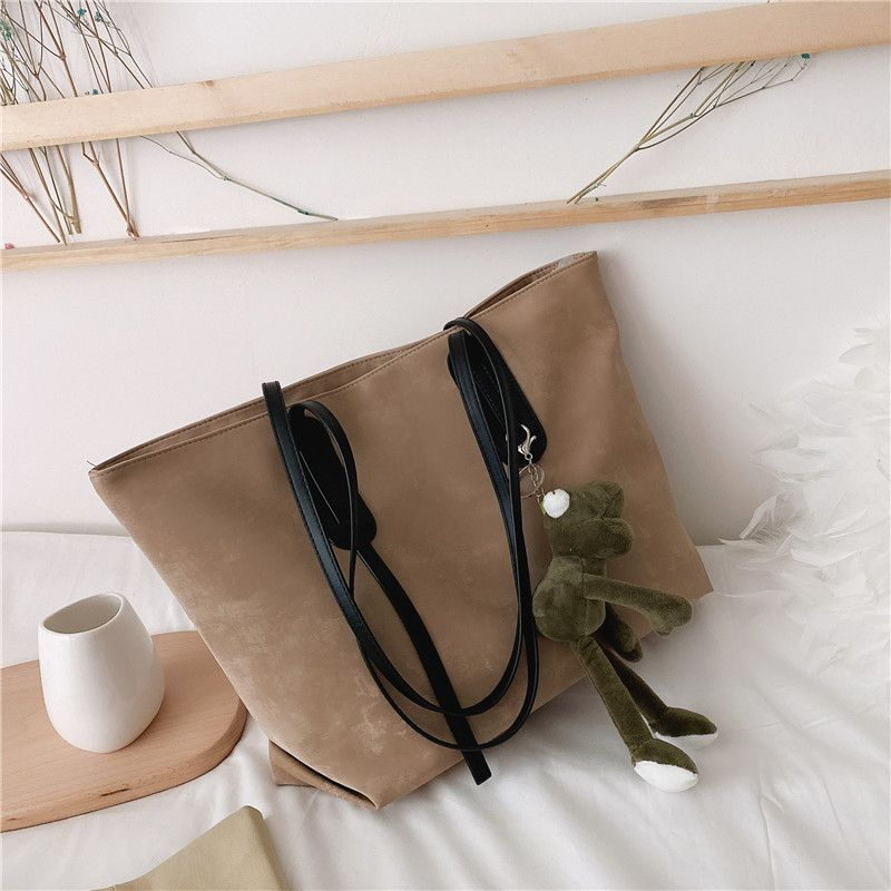 Largecapacity new allmatch womens large students single shoulder tote handbags  NHJZ263289