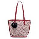 Autumn new largecapacity new trendy Korean wild oneshoulder messenger fashion bucket big bag NHJZ263291