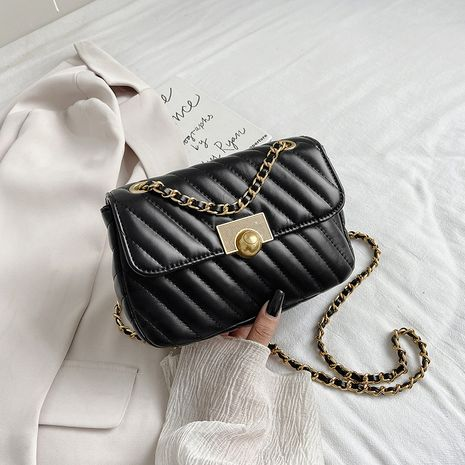 Autumn new trendy simple chain messenger wild shoulder bag for women NHJZ263315's discount tags
