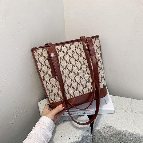 Nuevo bolso de hombro de gran capacidad para mujer, bolso de cubo portátil coreano NHJZ263318's discount tags