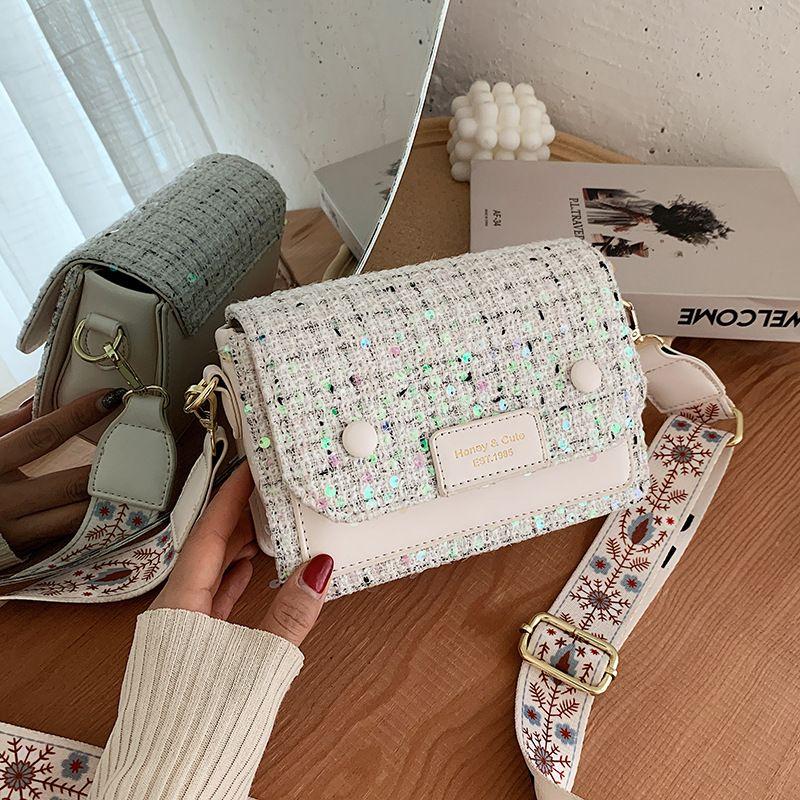 Fashion casual small summer new wild broadband shoulder messenger bag NHJZ263323