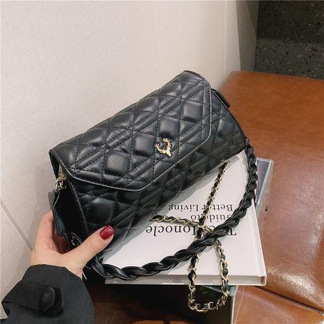 Lingge new chain shoulder wild women's messenger bag hot-saling NHJZ263328's discount tags