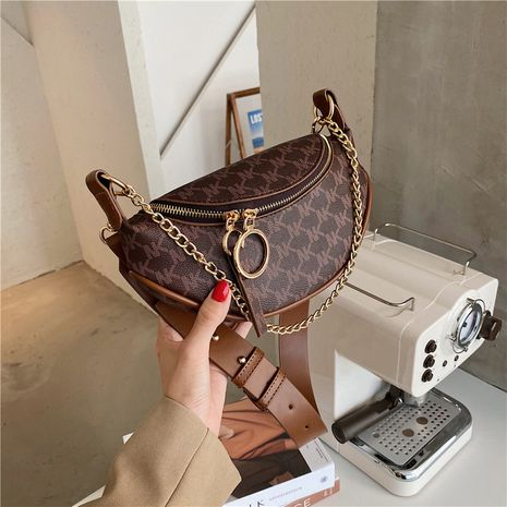 Autumn fashion chest and waist messenger bag small chain bag  NHJZ263339's discount tags