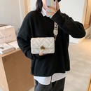 Fashion Womens Underarm Bags French oneshoulder rhombus Small Square Bags NHJZ263360