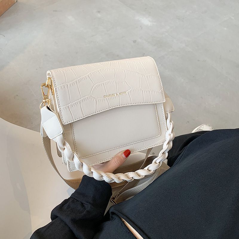 High level bag fashion allmatch oneshoulder armpit small square messenger bag NHJZ263370