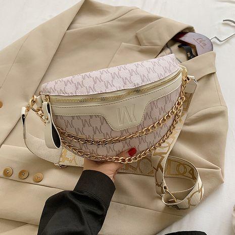 French popular chest bag women diagonal all-match chain messenger bag NHJZ263376's discount tags